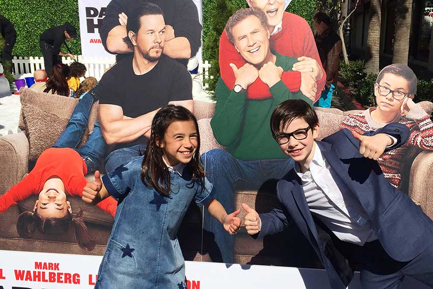 'Daddy's Home 2' Child Actors Talk Mel Gibson & Mark Wahlberg
