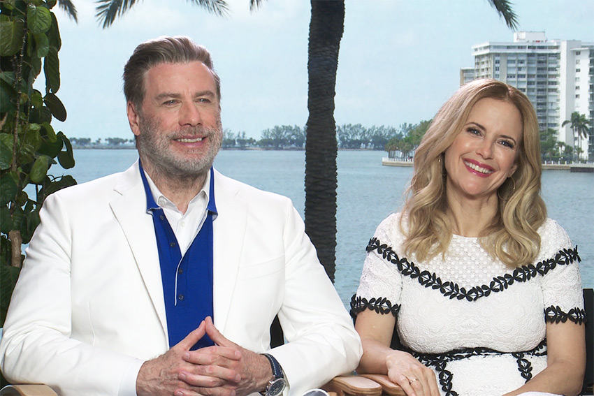 Interview: John Travolta & Kelly Preston On Playing The Gotti's.