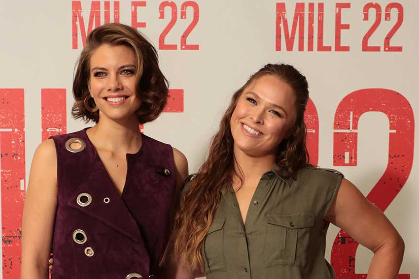 Interview: Lauren Cohan and Ronda Rousey of MILE 22