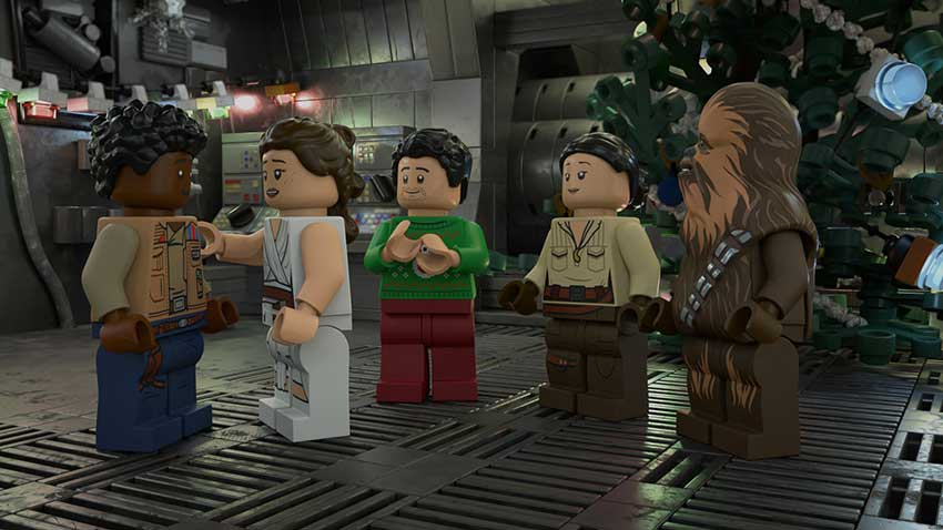 Review: 'LEGO Star Wars Holiday Special'