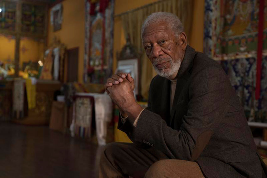 Morgan Freeman Talks 'The Story Of God' Season 3