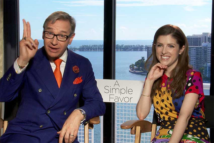 Interview: 'A Simple Favor's' Anna Kendrick & Director Paul Feig