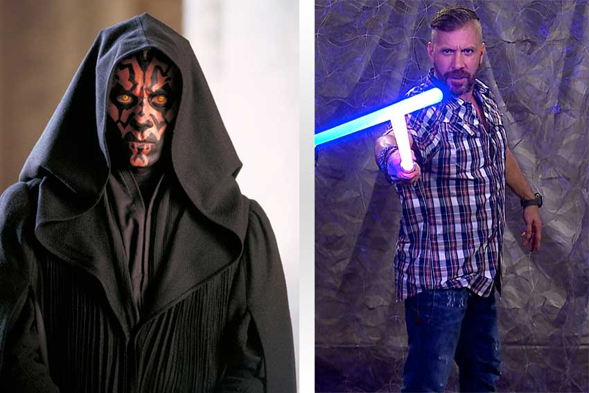 My Lightsaber Duel with Ray Park aka Darth Maul