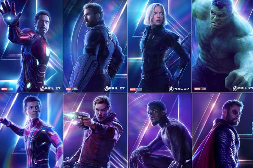 Avengers InfinityWar 22 Posters