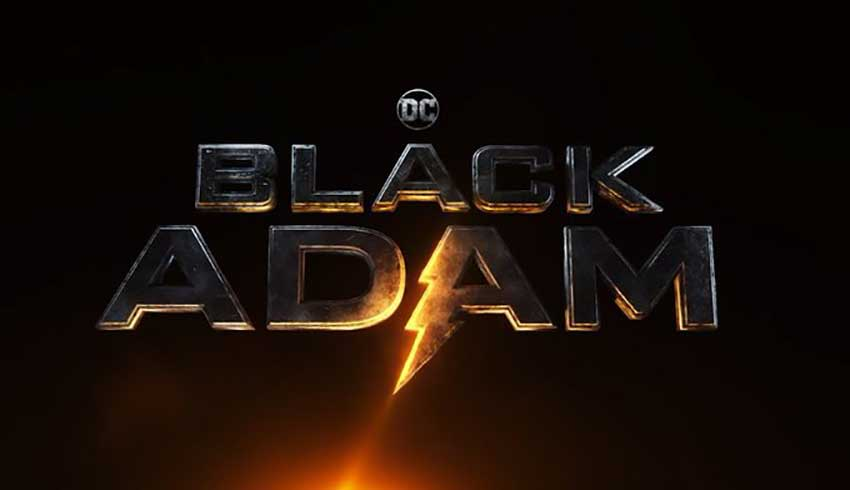 Black Adam movie logo