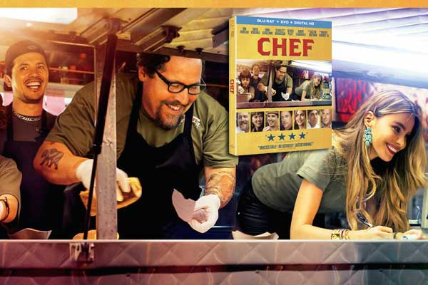 CHEF movie poster dvd