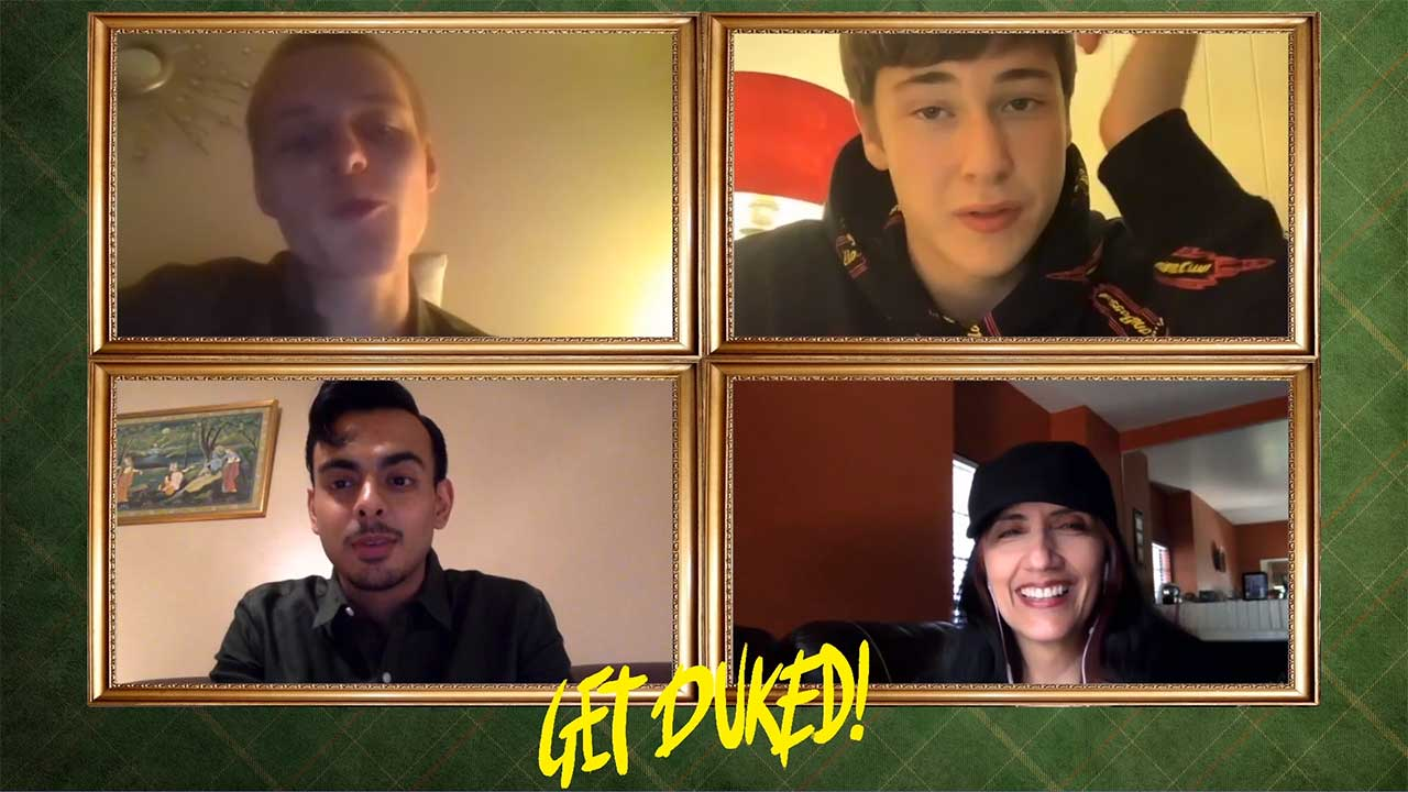 Get Duked Cast Interview