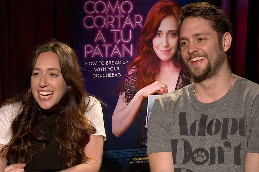 Mariana Trevino Christopher Von Uckermann CineMovie Interview