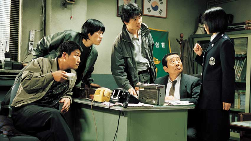 Memories of Murder re release