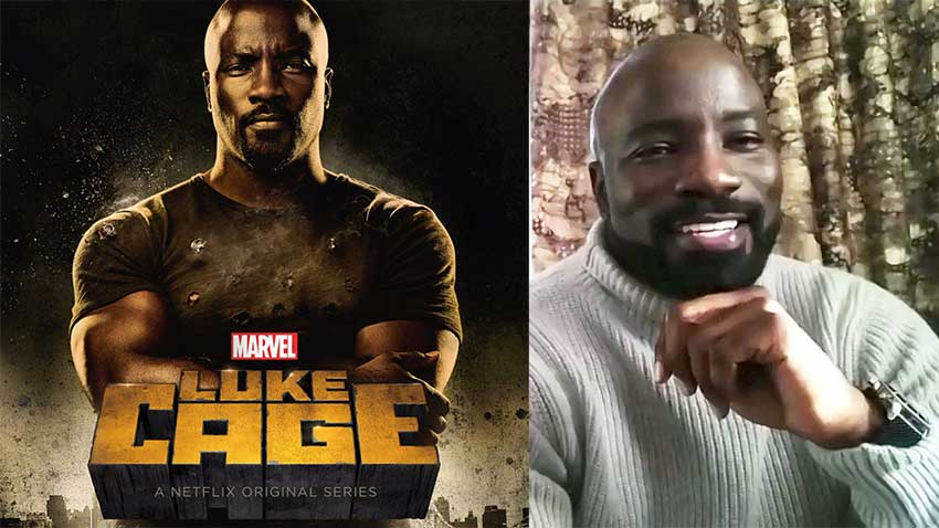 Mike Colter Luke Cage Marvel interview 850