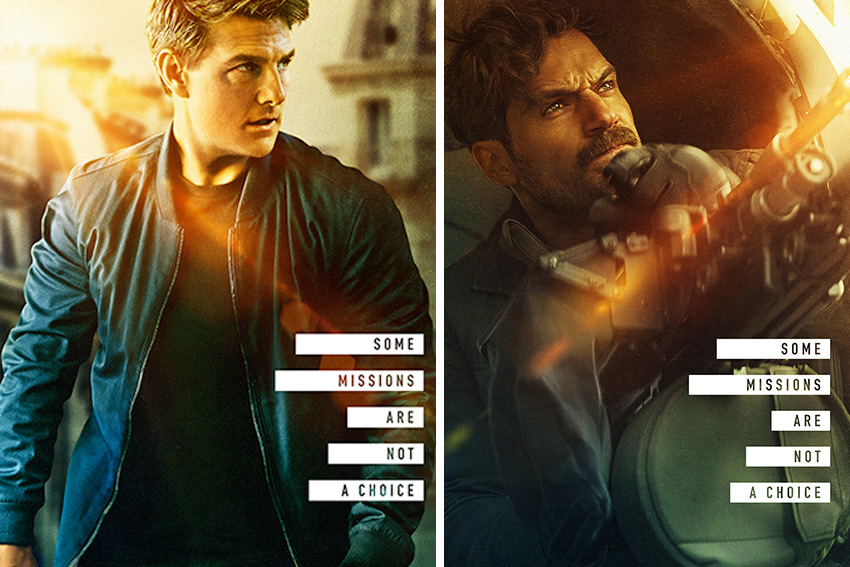 Mission Impossible Fallout character posters