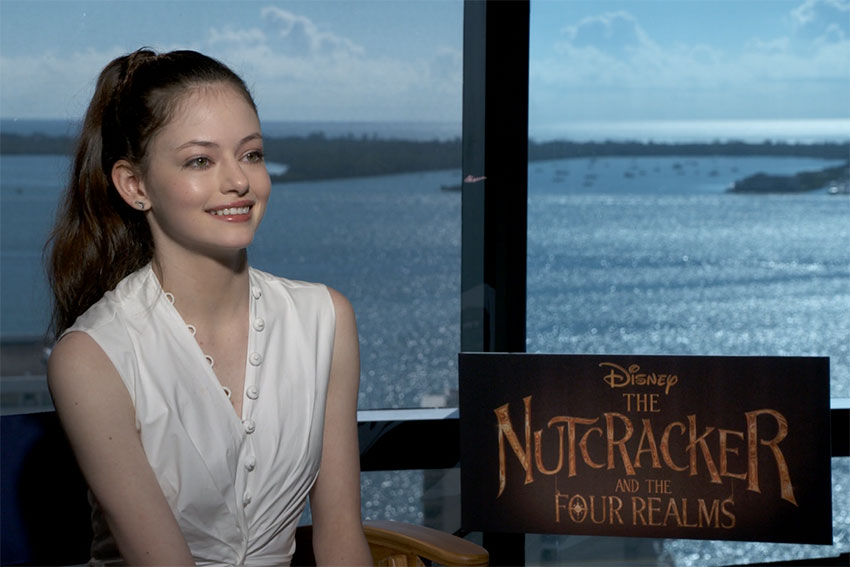 Nutcracker Mackenzie Foy CineMovie interview