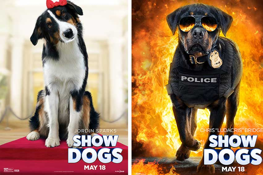Show Dogs Character Posters