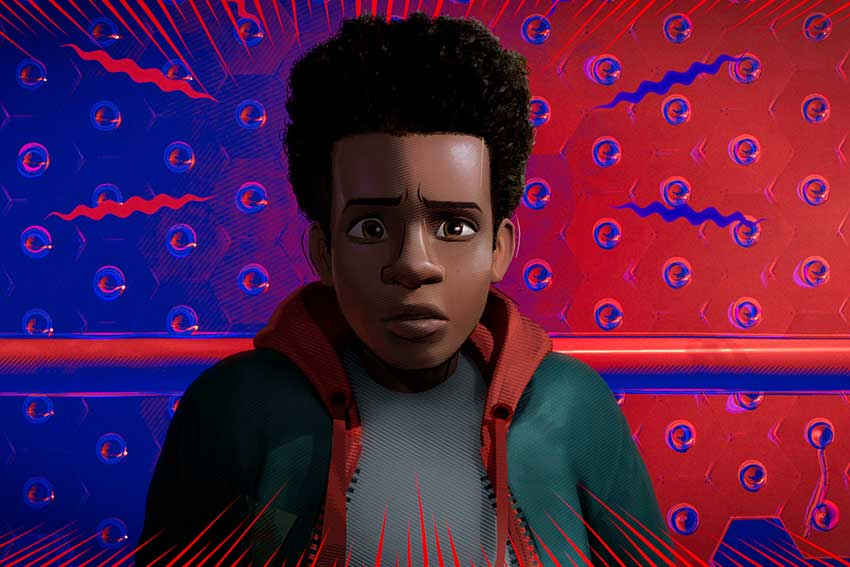 Spider man Into The Spider Verse Miles Morales