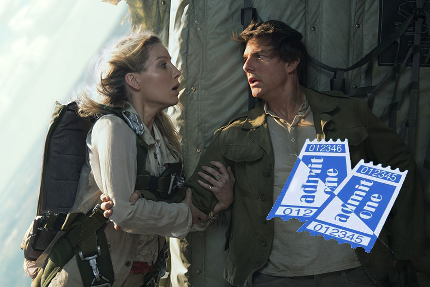 The Mummy Tom Cruise Annabell Wallis ticket giveaway