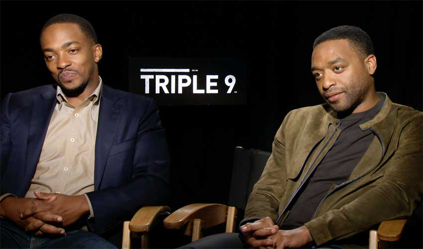 Anthony Mackie & Chiwetel Ejiofor CineMovie Interview