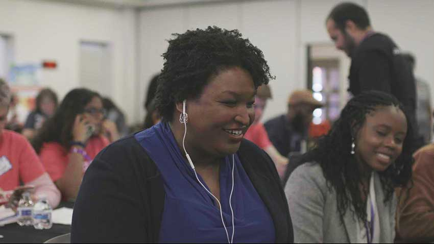 Stacey Abrams All In: The Fight for Democracy