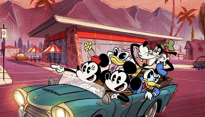 Wonderful World of Mickey Mouse poster