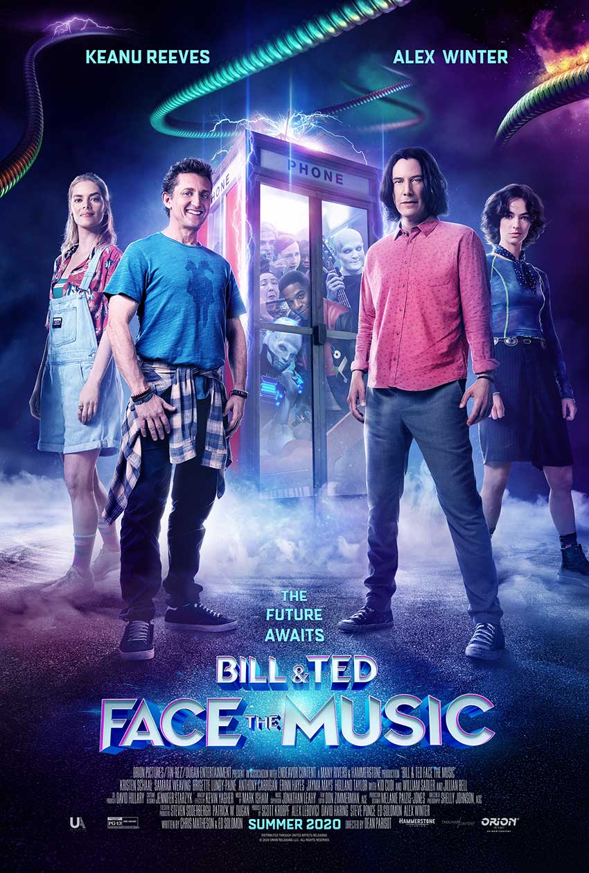 Bill Ted Face Music Official Poster